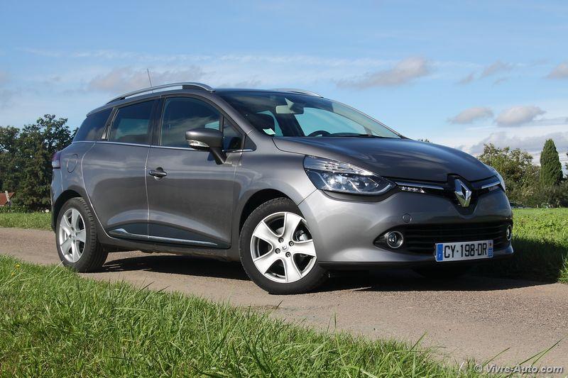 Essai Renault Clio 4 Estate dCi 90 EDC Intens