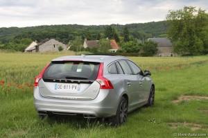 Essai Volvo V60 Plug-In Hybrid - Vivre Auto