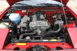Mazda MX-5 NA moteur - essai Vivre Auto