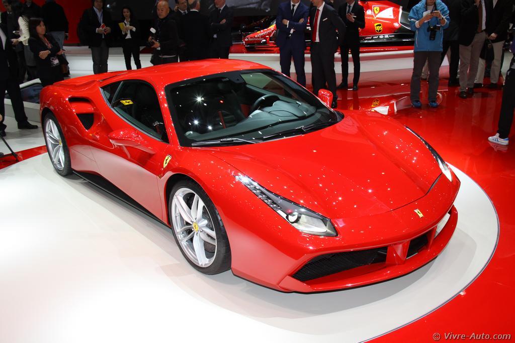 Genève 2015 : les photos de la Ferrari 488