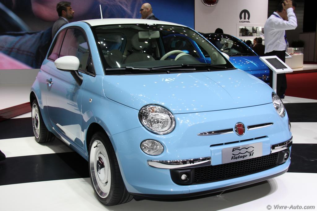 Genève 2015 : les photos du stand Fiat