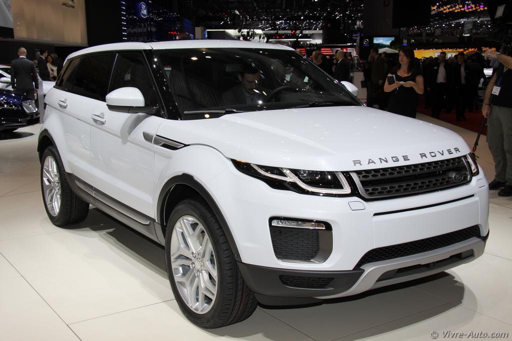 Genève 2015 : les photos du stand Land Rover
