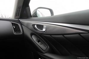 Intérieur Ininiti Q50 - essai Vivre Auto