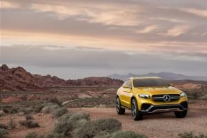 Mercedes GLC Coupe Concept - Vivre Auto