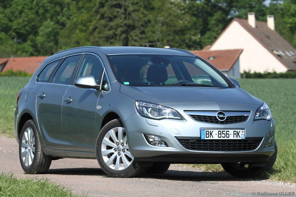 Essai Opel Astra Tourer CDTi 160