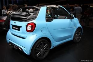Smart Fortwo cabriolet Brabus - Vivre-Auto