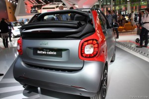 Smart Fortwo cabriolet IAA2015 - Vivre-Auto