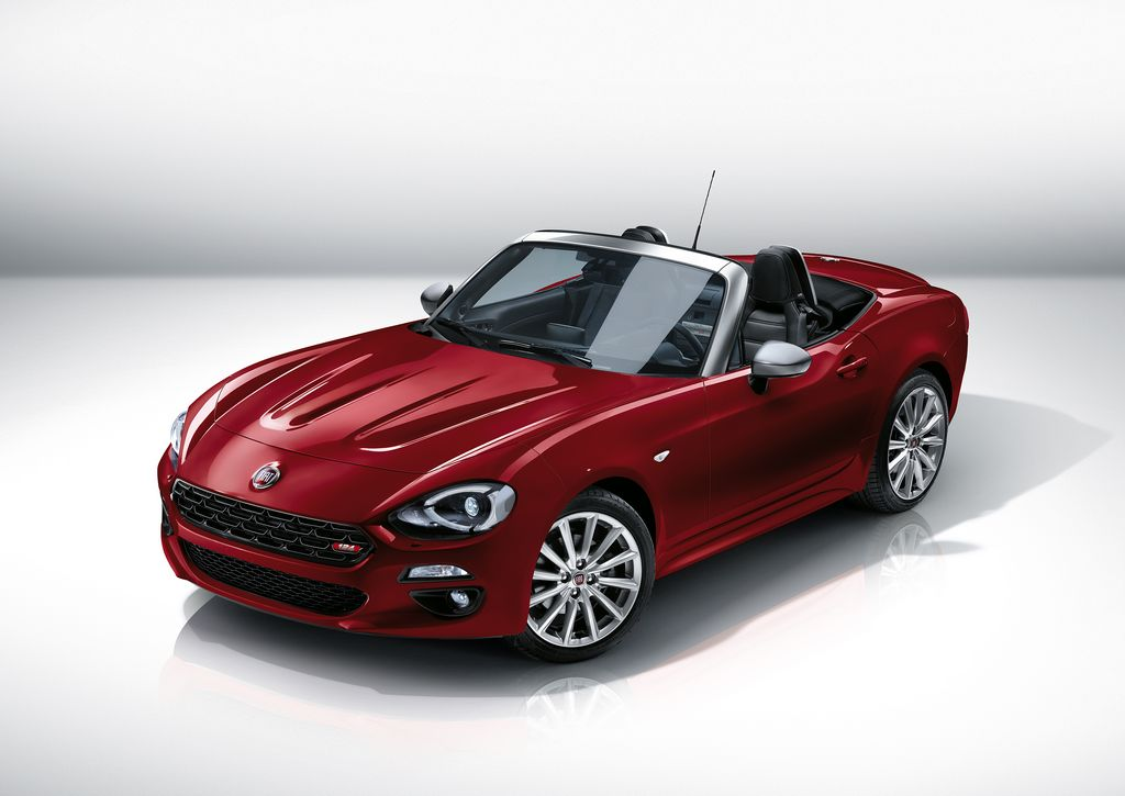 Le Fiat 124 Spider refait surface !