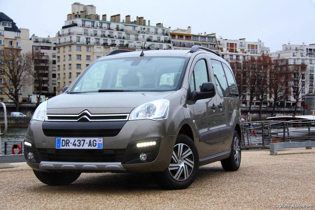 Essai Citroën Berlingo 2015 - Vivre-Auto