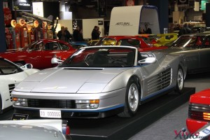 Ferrari Testarossa Spider 1986 - Rétromobile 2016