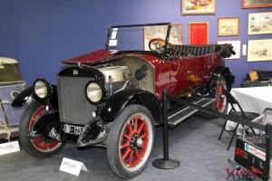 Stanley Modèle 735 à vapeur Torpédo 1922 - Rétromobile 2016