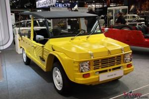 Citroën Mehari 1981 - Rétromobile 2016