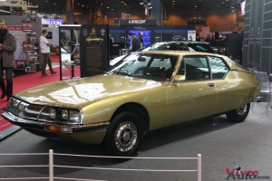 Citroën SM Gold 1970 - Rétromobile 2016