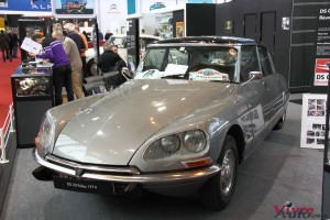 DS 20 Pallas 1974 - Rétromobile 2016