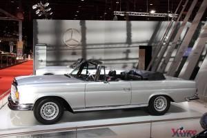 Mercedes 280 SE 3.5 Cabriolet W111 1970 - Rétromobile 2016
