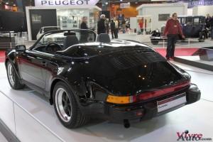 Porsche 911 Speedster 3,2 1989 - Rétromobile 2016