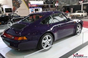Porsche 911 type 993 Carrera 1994 - Rétromobile 2016