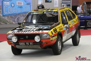 "Renault 20 Turbo 4x4 ""Paris Dakar"" 1982 - Rétromobile 2016"