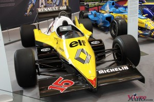 Renault F1 RE40 1983 - Rétromobile 2016