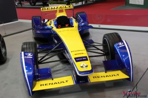 Renault e.dams Z.E. 2015 - Rétromobile 2016