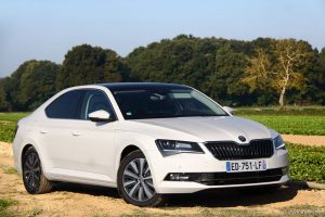 Essai Skoda Superb GreenLine