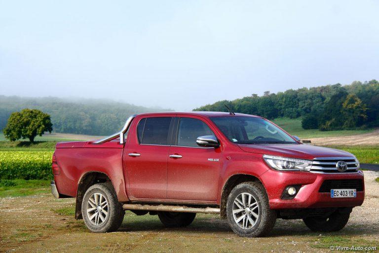 essai Toyota Hillux