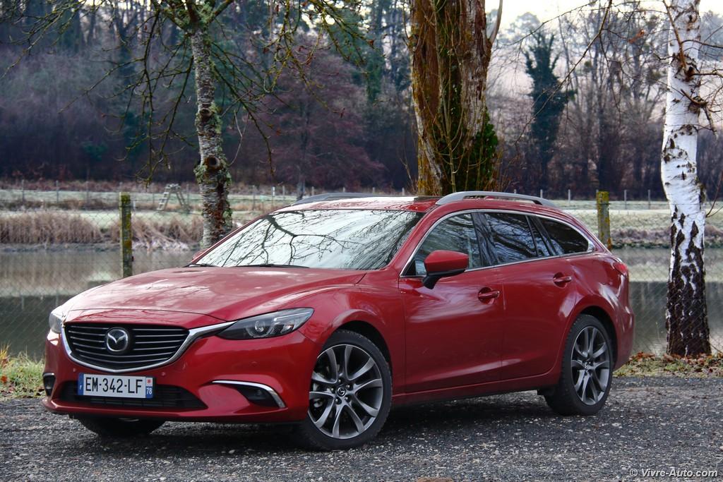 essai Mazda 6 Wagon 2017