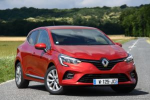 Renault Clio 5 (2020) TCe 100 X-Tronic Intens Rouge Flamme