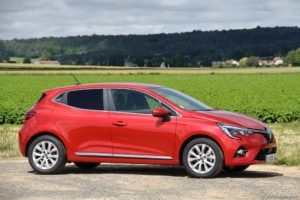 Essai Renault Clio 5 TCe 100 X-Tronic Intens Rouge Flamme
