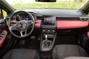 Essai Renault Clio 5 TCe 100 X-Tronic Intens - Intérieur