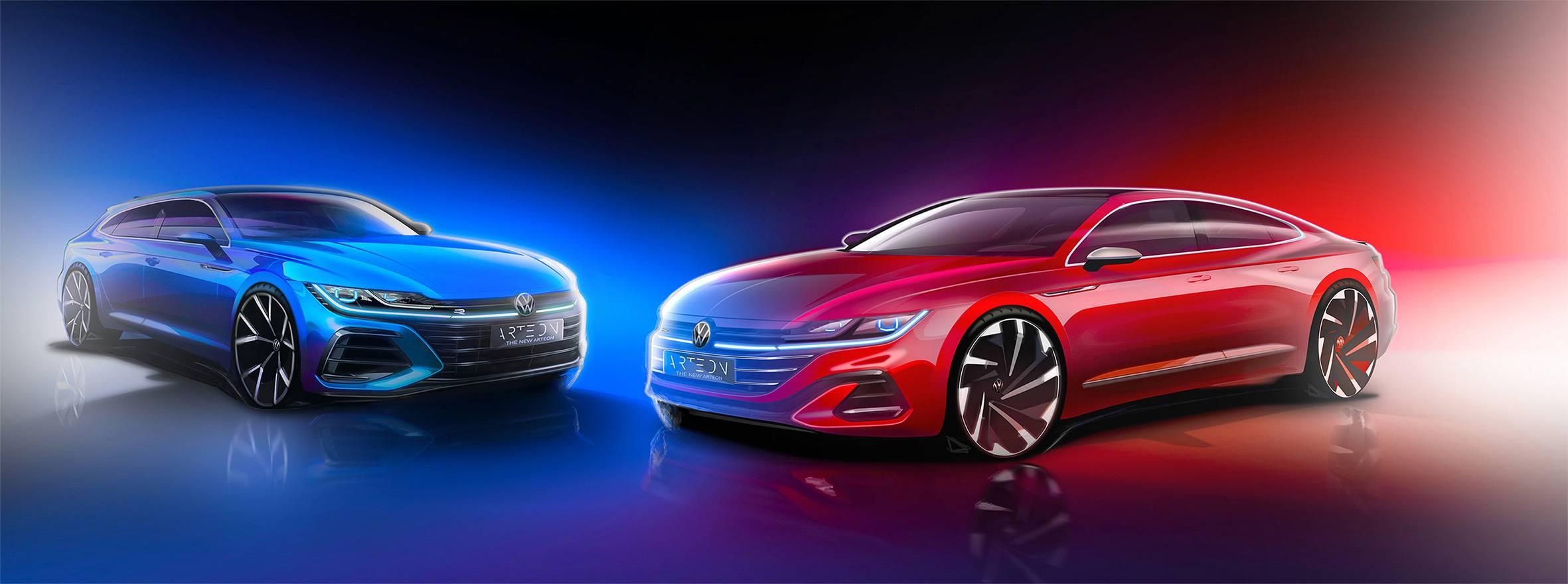 Volkswagen Arteon restylée, version Shooting Brake en approche !