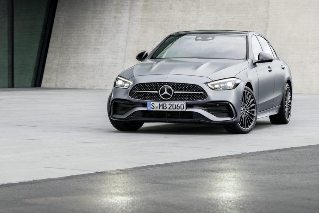 Nouvelle Mercedes Classe C 2021, la technologie en ligne de mire