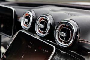Photo de l'intérieur de la nouvelle Mercedes Classe C 2021 (W206)